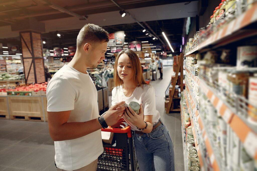 Gütesiegel beim Einkaufen