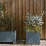 Zeitlose Pflanzkübel in schickem Design: Beton Pflanzkübel aus Fibercement